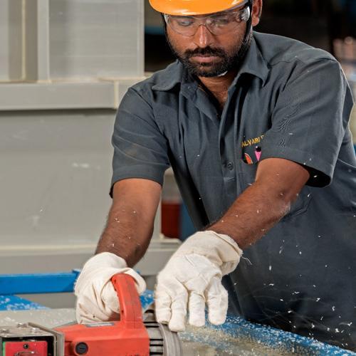 PP Cutting Maching
